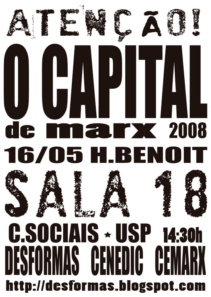 cartaz seminário marx
