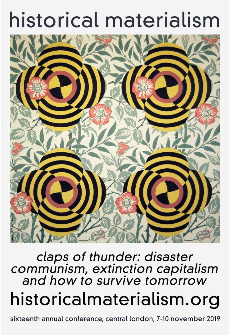 David Mabb. Historical Materialism Poster 2019